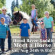 Hood River Saddle Club Meet A Horse Day on August 24, 2019