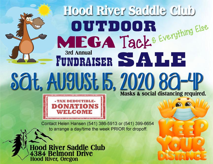 Hood River Saddle Club Mega Tack & Everything Sale